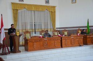 Jawaban Pemerintah Kabupaten Gunung Mas Atas Pandangan Umum Fraksi-Fraksi Pendukung Dewan