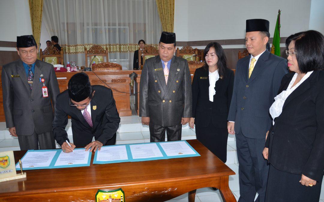 Paripurna Istimewa Masa Persidangan III Tahun Sidang 2018.