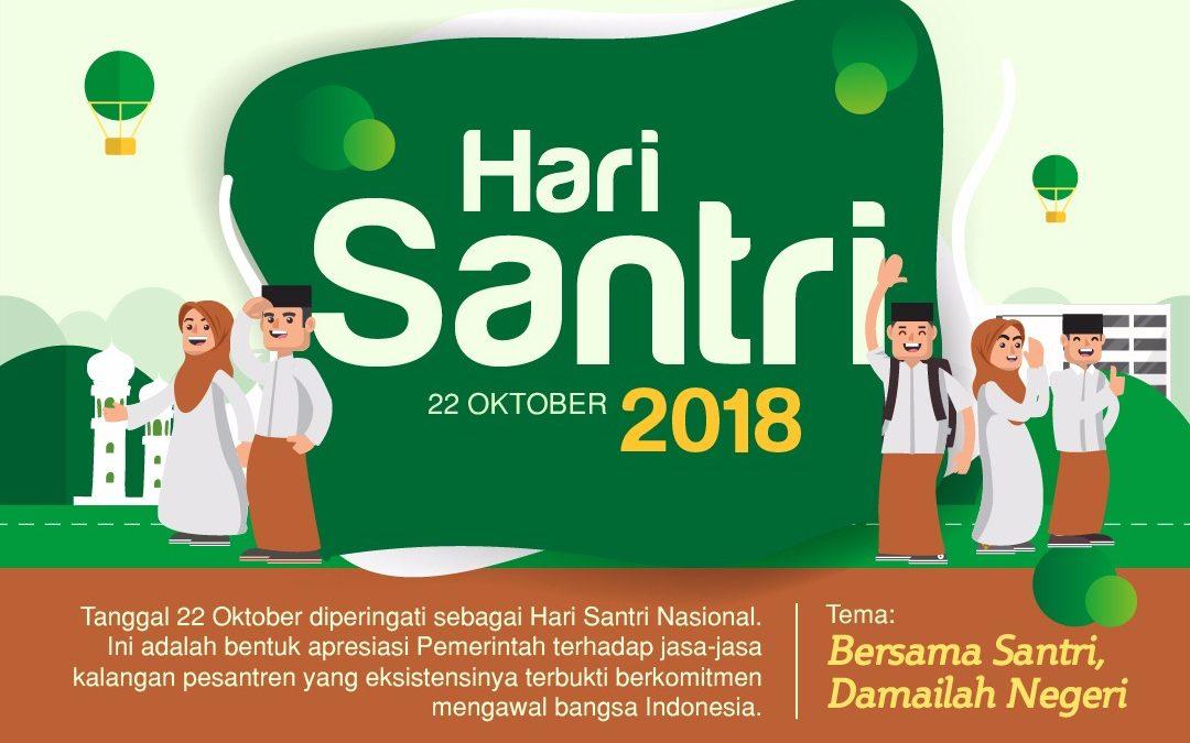 """Hari Santri 2018: """"Menag Ajak Santri Tebarkan Kedamaian di Sosial Media"""""""