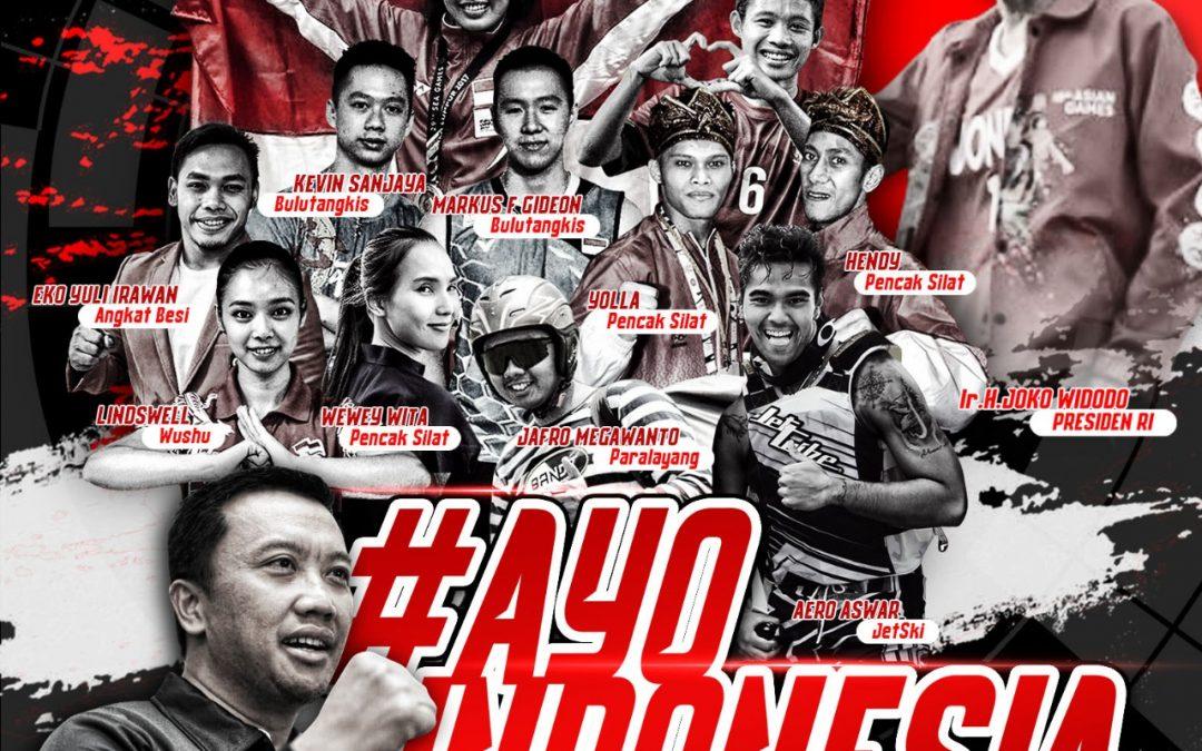 Asian Games 2018 Bergulir, Menpora: Bertarunglah, Menanglah dan Jadikan Namamu Abadi!