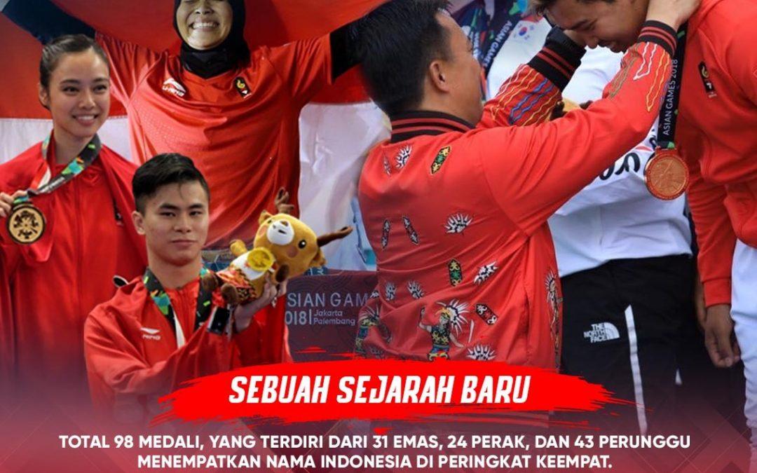 Haornas 2018, Bangun Indonesia Menuju Olimpiade 2032