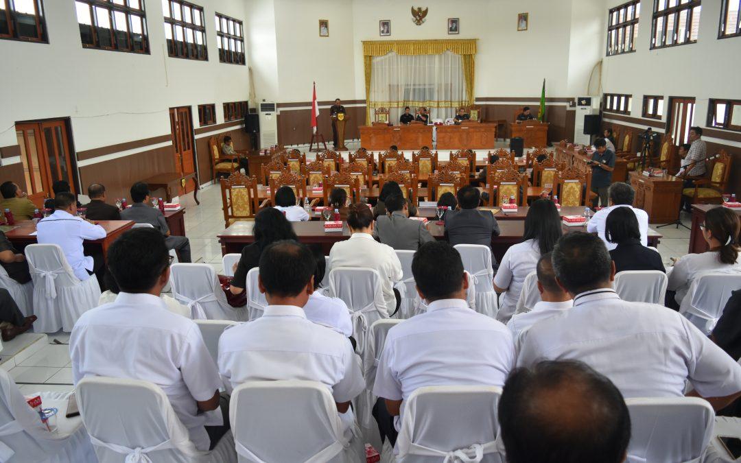 Terkait Fraksi-Fraksi Pendukung Dewan Bupati Sampaikan Jawaban