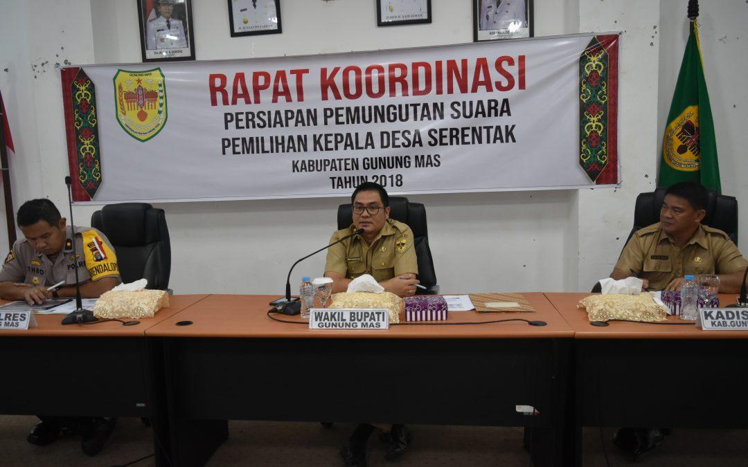 Camat Diharapkan Terus Memonitor Tahapan Pemilihan Kepala Desa