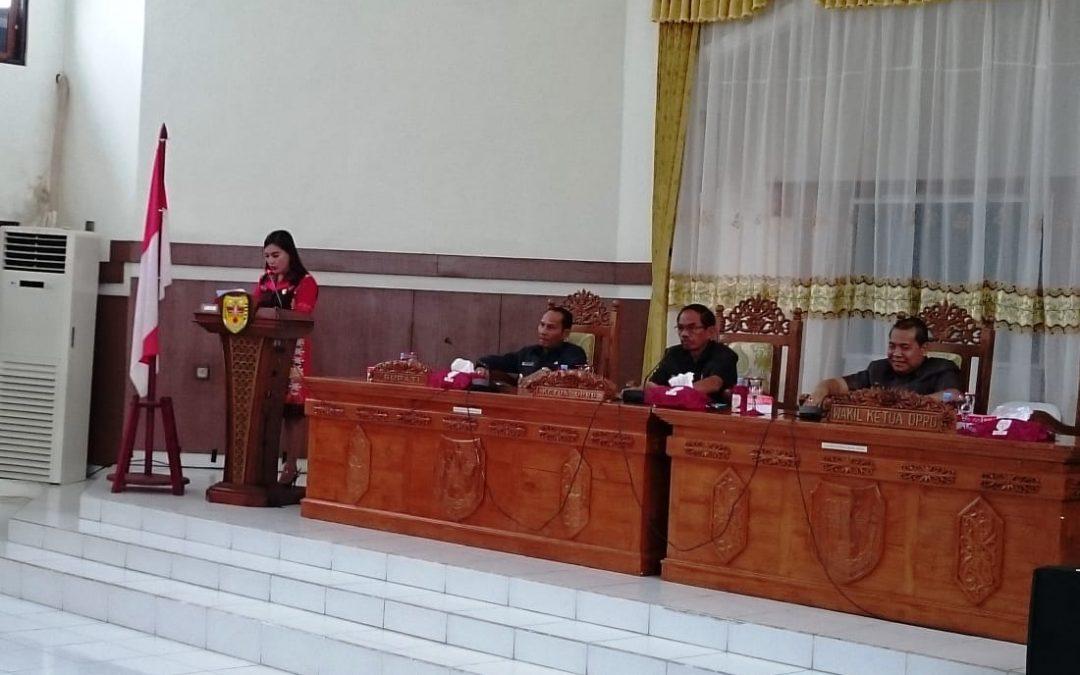 Seluruh Fraksi DPRD Menyetujui Raperda APBD – 2018