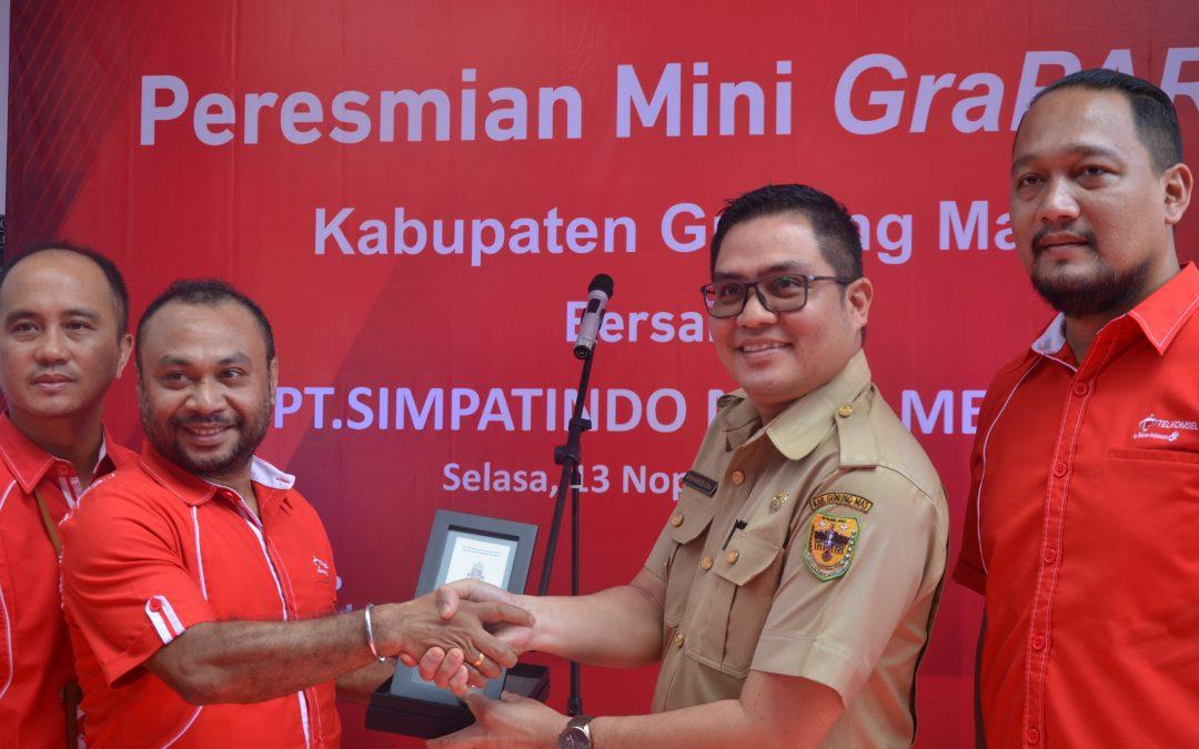 Resmikan Mini GraPARI Telkomsel, Ini Harapan Wakil Bupati Gunung Mas