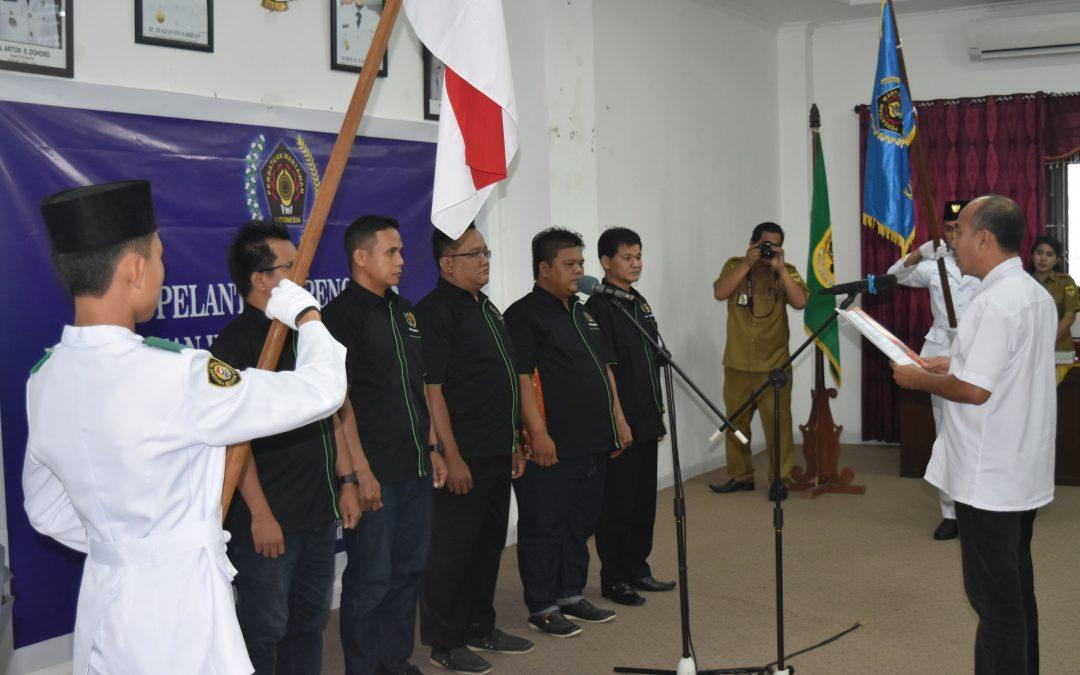 Pelantikan Pengurus PWI Kabupaten Gunung Mas Periode 2018-2022